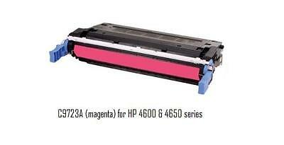 Used Compatible with HP C9723A Magenta Toner 4600 4650 series printers 75+