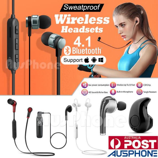 Universal 4.2 Wireless Bluetooth Handsfree Earphones For Apple iPhone Series