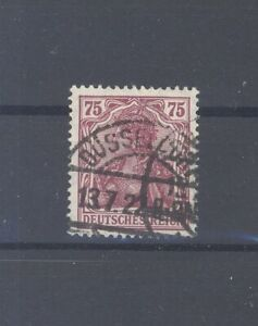 Dt-Reich-Mi-Nr-197b-75-Pfg-Germania-gestempelt-geprueft-BPP-31872