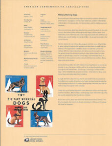 1925-55c-Forever-Military-Working-Dogs-Souvenir-Page