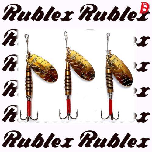 3 Rublex Veltic Spinner 8gr G Neu alte Herstellung