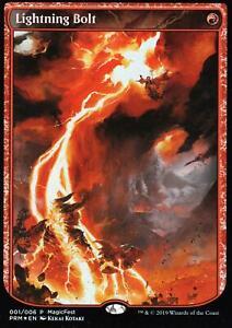 Lightning-bolt-FOIL-Presque-comme-neuf-MAGIC-fermement-PROMO-ICD-magic-mtg