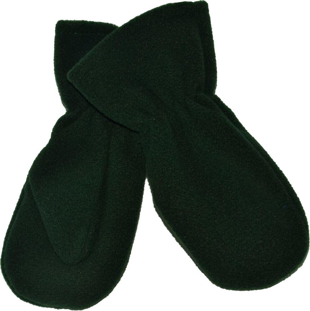 Unicol Girls Boys Winter Outdoor Gloves School Uniform Fleece Mittens Pack Of 6