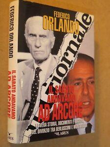 IL-SABATO-ANDAVAMO-AD-ARCORE-La-vera-storia-Federico-Orlando-Larus-1995-libro-di