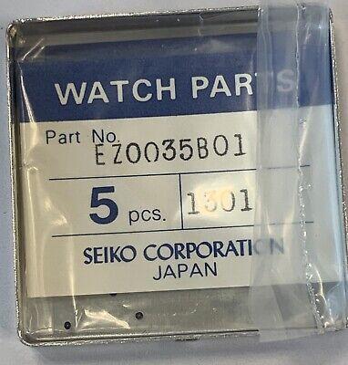 NOS New Seiko DH0070E 01 Pusher Crown Junta Corona DH0070E01 1 PC= 1 Gasket