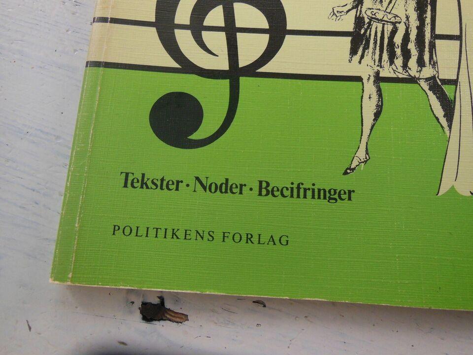 Liva Weel Viser, Tekster Noder Becifringer