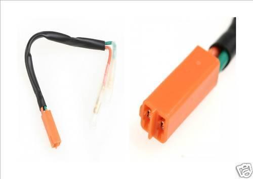 LED Indicator leads adaptor leads dont cut your wiring loom Honda Kawasaki