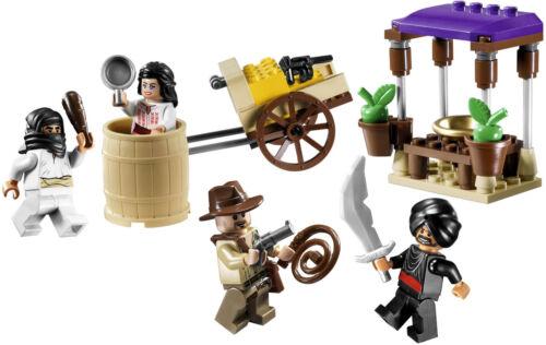 Lego 7195 Ambush in Cairo Indiana Jones ** Sealed Box ** Marion Ravenwood