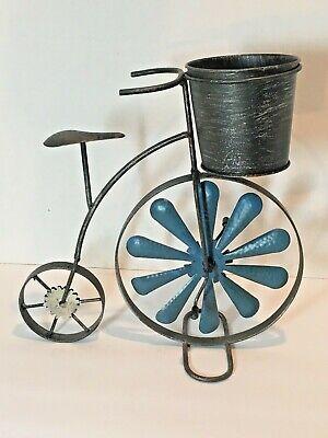 Metal Retro Tricycle Indoor//Outdoor Planter Sculpture