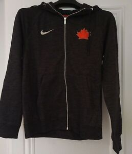 Details about Men's 2018 Olympics Team Canada Ice Hockey Legacy Full Zip Black Hoodie XX Large