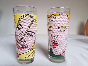 2 Gläser von Funny Frisch Chips Glas SAMMLERSTÜCK RARITÄT - Eschweiler, Deutschland - 2 Gläser von Funny Frisch Chips Glas SAMMLERSTÜCK RARITÄT - Eschweiler, Deutschland