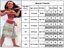 Moana-Princess-Kid-Girl-Fancy-Party-Dress-Up-Outfits-Cosplay-Costumes-Necklace thumbnail 8