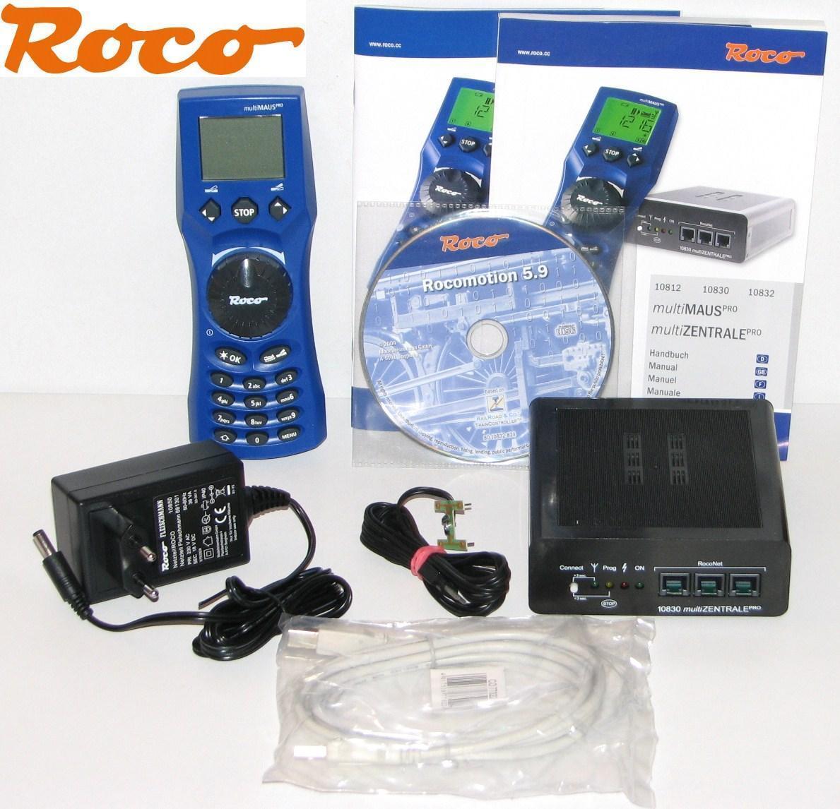 Roco 10832 Ratón Multi Juego pro con 36VA de Fuente  Digital Control Remoto  -