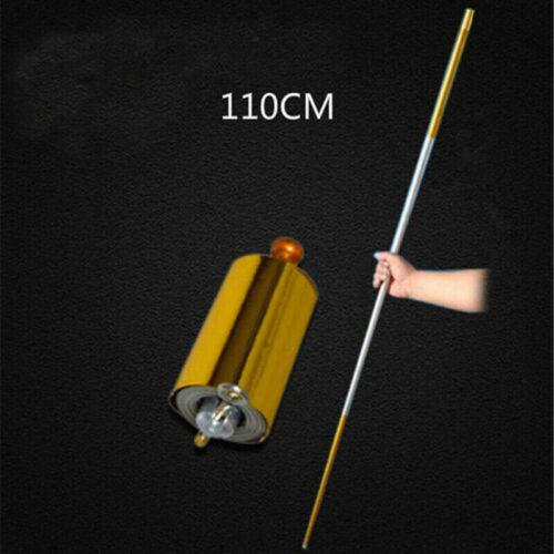 Outdoor Sport Portable Magic Wand Toy Pocket Staff Steel Metal Lightweight Props