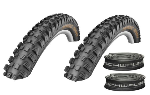 "Schwalbe Magic Mary Tyres MTB DH Bike Park 27.5"" Wide Downhill Gravity"