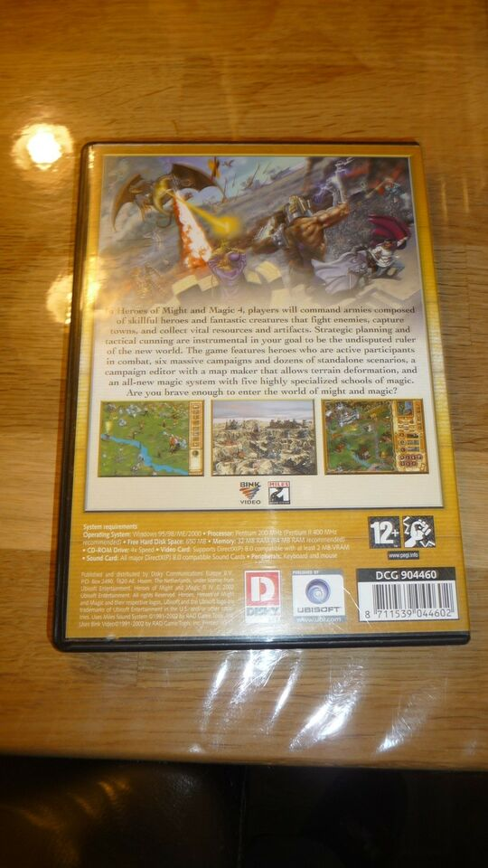 Heroes lv of might and magic, til pc, anden genre