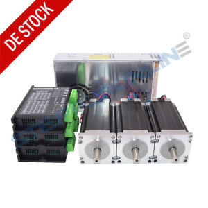 3-Achse-CNC-Router-Kit-3Nm-Nema-23-Schrittmotore-4-2-A-amp-Stepper-Motor-Driver