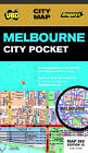 Melbourne City Pocket Map 360 16th by UBD Gregorys (Sheet map, folded, 2015)