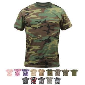 Boys Short Sleeve Camouflage Tee Shirt