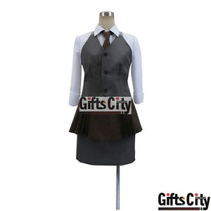 e04902c54e32 Image is loading Tokyo-Ghoul-Touka-Kirishima-Waiter-Uniform-Cos-Clothes-