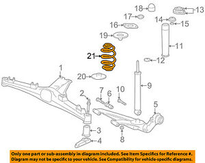 s l300 bmw oem 98 02 z3 rear suspension spring 33539070128 ebay