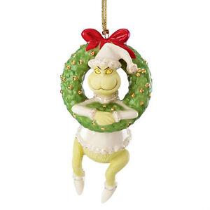 Lenox-Christmas-Annual-Grinch-Ornament-Grinch-039-s-Devious-Dilemma-New-2013
