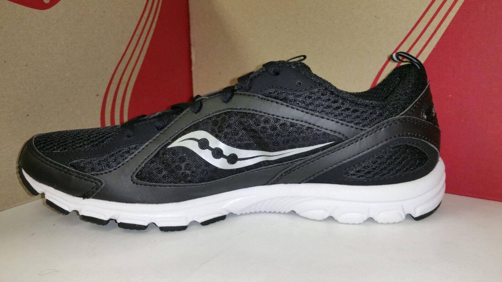 Saucony Uomo Grid Grid Grid Fiya nero bianca Light Weight Running scarpe Dimensione 7.5-13 9695d0