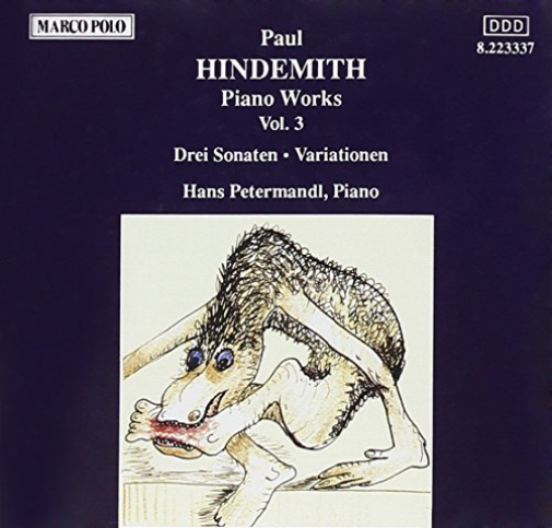 HINDEMITH-Hindemith- Piano Works, Vol. 3  CD NUOVO