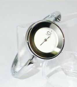 SALE-NEW-WOMEN-039-S-ELEGANT-BANGLE-BRACELET-WATCH-WITH-BOX-SILVERTONE