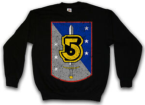 Pullover Tv Of Five Logo 5 Series Center Space Army Light Sweatshirt Babylon A6OScFOPq