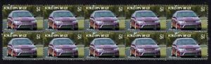 FORD-FPV-FALCON-BF-GT-STRIP-OF-10-MINT-VIGNETTE-STAMPS-PURPLE