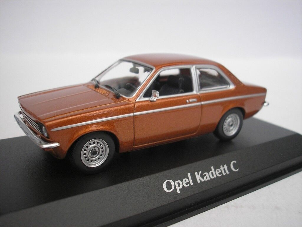 Opel Kadett C Sedan 1974 Bronze Metallic 1 43 Maxichamps 940045600 New