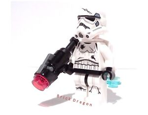 Lego Star Wars Stormtrooper With Jetpack New From Set 75134