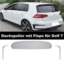 Heckspoiler Dachspoiler für Vw Golf 7 VII Gti GTD Spoiler Flaps Heck #06