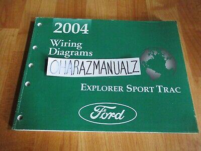 2004 FORD Explorer Sport Trac Wiring Diagrams Manual OEM ...