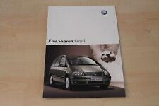 68013) VW Sharan Goal Prospekt 01/2004