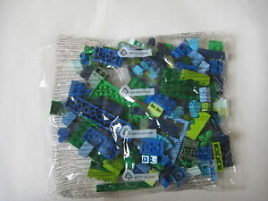Sealed Bag of Lime Green and Green bricks and plates New!! Lego