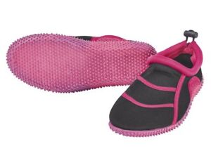RüCksichtsvoll Kinder Wasserschuhe Neoprenschuhe Schwimmschuhe Aquaschuhe Strand Pink Schwar 33 Kleidung & Accessoires Sonstige