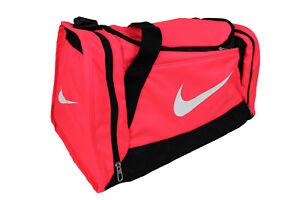e1bd1c4fe912a Das Bild wird geladen Nike-Sporttasche-Tasche-Reisetasche-Sport-Tasche-pink -neon-