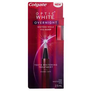 Colgate Optic White Overnight Teeth Whitening Treatment Pen 2 5ml