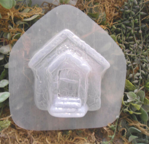 "Small free standing fairy door plastic casting mold 4/"" x 4/"" x 1/"""