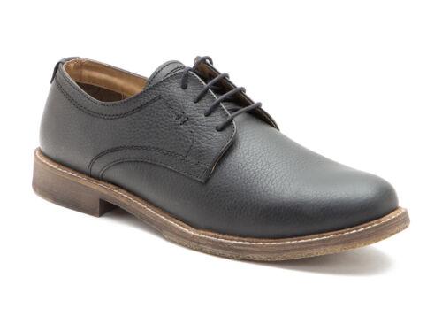 Red Tape Marlow Negro Cuero Hombre Formal Zapatos Derby molido Gratis Reino Unido P/&p RRP £ 50