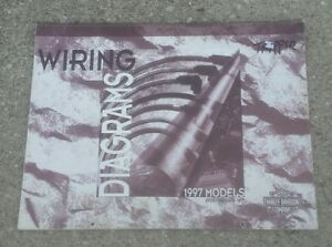 image is loading harley-davidson-motorcycle-wiring-diagrams-manual-1997-all-