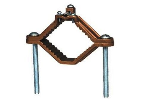 Westgate K-72 4.5 to 6 Inch Ground Clamp Armored with Steel Screws