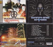 2 CDs, Alyson Avenue - Changes (2011) + Sapphire Eyes +1 (2013), AOR,Street Talk