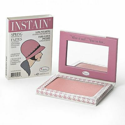 theBalm Instain Long-Wearing Staining Powder Blush  Houndstooth > free shipping