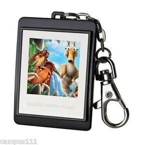 New-16M-Black-1-5-034-LCD-Digital-Photo-Frame-Keychain-128-x-128-High-Resolution