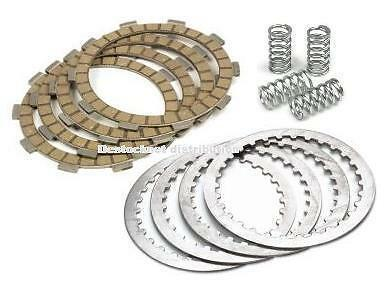 Kit embrayage complet Disque garnis lisses ressort HONDA CB 125 CB125  T2 Twin
