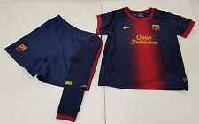 Barcelona FC Nike Youth Large 2012/13 Home Replica Kit Jersey Shorts Socks NWOT