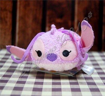 "3.5"" Loli&Stitch Tiny Plush Doll Mini Toy Tsum Key Accessories Phone Screen Wipe"